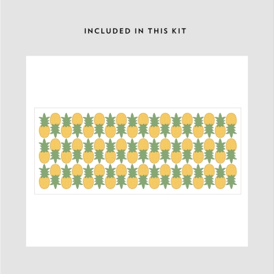 Mini Pineapples Printed Decal Kit