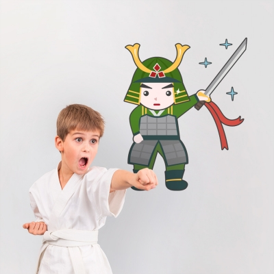 Samurai Kit Printed Wall Decal