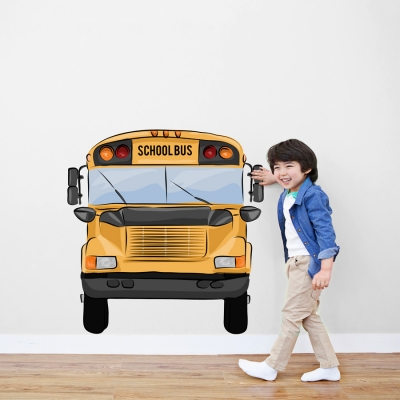 School Bus Standard Printed Wall Decal