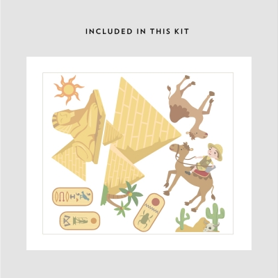 Egypt Explorer Printed Decal Kit