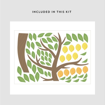 Lemontree Printed Decal Kit