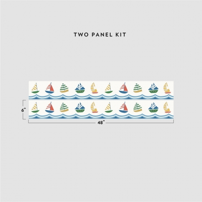 Sailboats Removable Border Kit