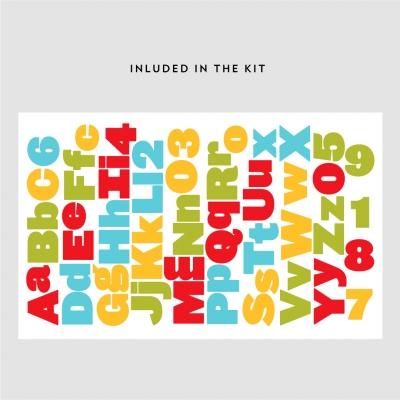 School Alphabet Kit