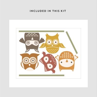 Woodland Owls Kit