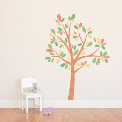 Candy Tree Printed Wall Decal