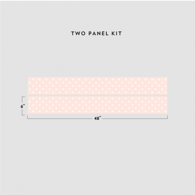 Polka Dot Removable Border Kit