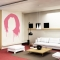 Hair Silhouette Wall Decal