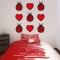 Ladybugs and Hearts Wall Decal