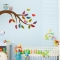 Brother and Sister Owl Wall Decal