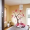 Tulip Leaves Tree Wall Decal
