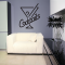 Neon Cocktails Sign Wall Decal