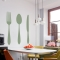 Fork knife spoon wall decal