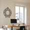 Oval Frame Wall Decal