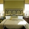 Prescott iron headboard wall decal