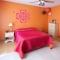 Abstract Heart Flower Wall Art Decal