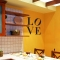 Indiana Love wall decal