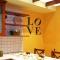 Indiana Love wall decal