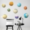 3D Planets Set Wall Decal