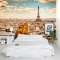 A view in Paris Wall Mural