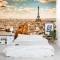 A view in Paris Wall Mural