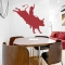 Bull Rider Wall Art Decal