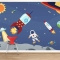 Space Adventures Wall Mural