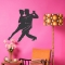 Tango Dancers Wall Decal