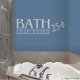 Bath soap extra 25 cents... Wall Art vinyl decal removeable sticker