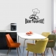 Bon Appetit! Wall Art Vinyl Decal Sticker Quote