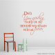 Dad, Your Guiding Hand On My Shoulder... Wall Art Vinyl Decal Sticker Quote