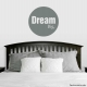 Dream Big Wall Art Vinyl Decal Sticker Quote