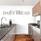 Give us this day our daily bread Wall Art Vinyl Decal Sticker Quote
