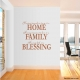 Having Somewhere To Go Is A Home... Wall Art Vinyl Decal Sticker Quote