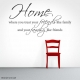 Home: Where You Treat... Wall Art Vinyl Decal Sticker Quote