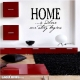 Home ...is where our story begins Wall Art Vinyl Decal Sticker Quote