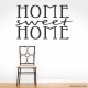 Home Sweet Home Wall Art Vinyl Decal Sticker Quote
