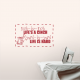 Inch-By-Inch Life's A Cinch... Wall Art Vinyl Decal Sticker Quote