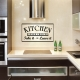 Kitchen Dinner Choices: Take It Or Leave It Wall Art Decal