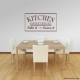 Kitchen Dinner Choices: Take It Or Leave It  Wall Art Vinyl Decal Sticker Quote