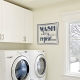 Wash Dry Fold Repeat Wall Art Vinyl Decal Sticker Quote