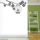 Tree branch with a Birdcage Vinyl Wall Decal