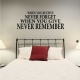 When You Receive Never Forget... Wall Art Vinyl Decal Sticker Quote