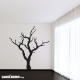 Dead leafless tree wall decal