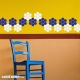 Honeycomb wall decal