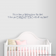You've Been A Blessing From The Start. I Love... Wall Art Vinyl Decal Sticker Quote