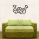 Dad Wall Art Vinyl Decal Sticker Quote