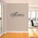 Famlies are wall decal quote