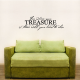 For Where Your Treasure Is... Wall Art Vinyl Decal Sticker Quote