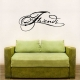 Friends Wall Art Vinyl Decal Sticker Quote