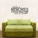 God Gave Us Memories That we Might... Wall Art Vinyl Decal Sticker Quote